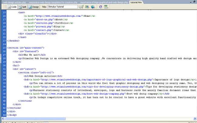 Responsive Web Design Templates For Creators Web Designing Uae